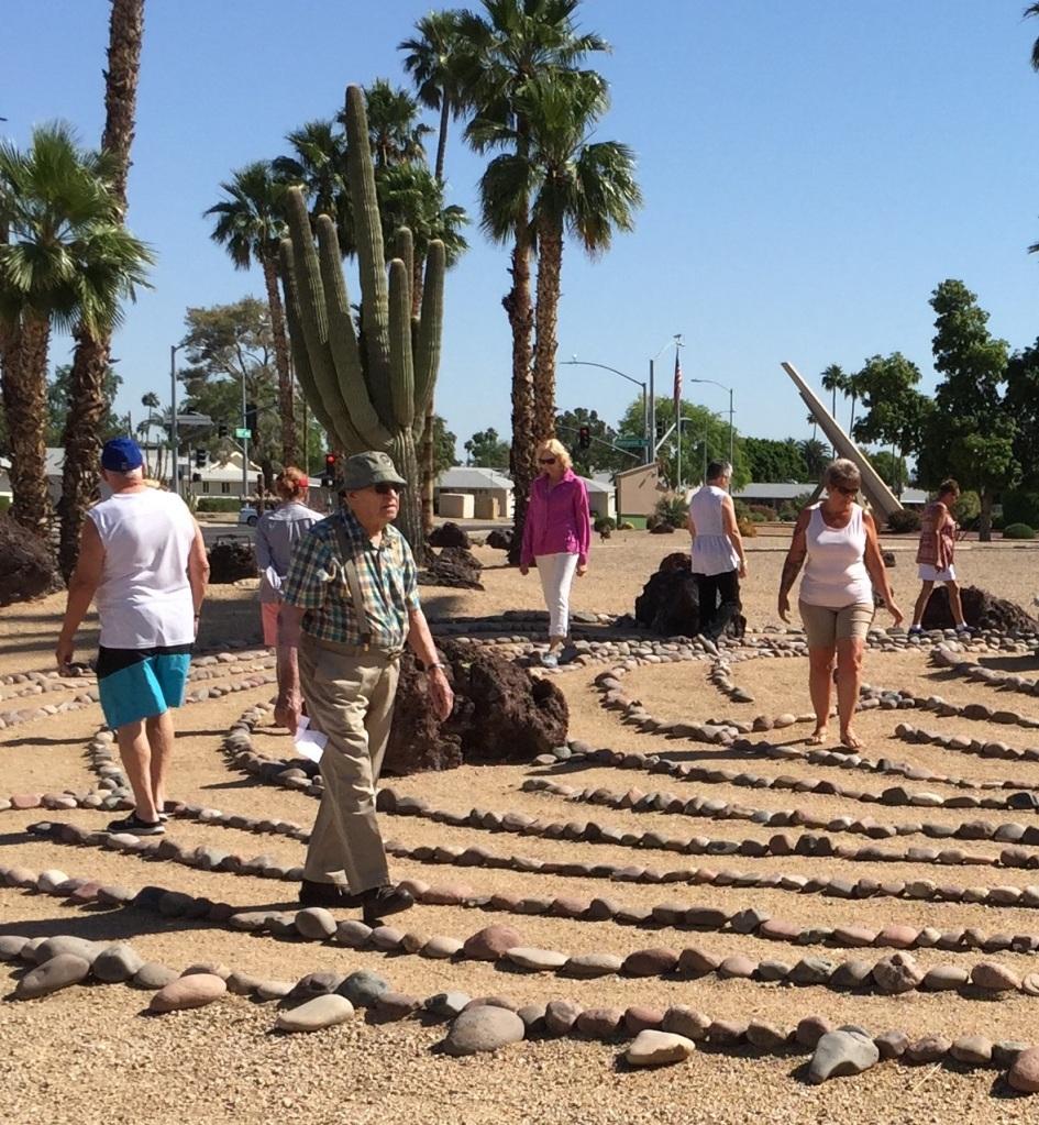 Labyrinths at the Palms, Sun City, AZ